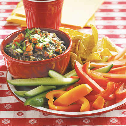 Bacon Black Bean Dip (85¢)