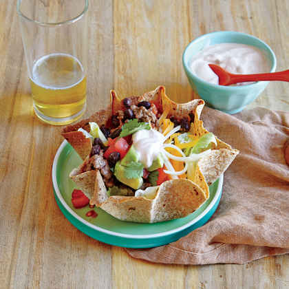 Beef and Bean Taco Salad