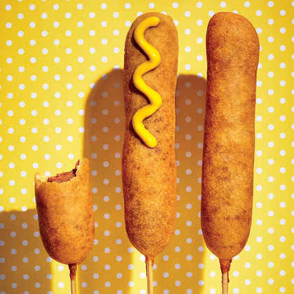 Beer-Battered Corn Dogs