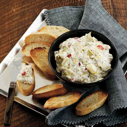 Blue Cheese-Artichoke Dip