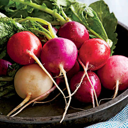 Butter-Dipped Radishes