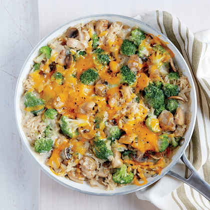 Chicken, Broccoli, and Brown Rice Casserole