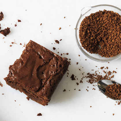 Coffee Bean Brownies