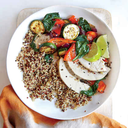Fresh Vegetable Quinoa Bowl