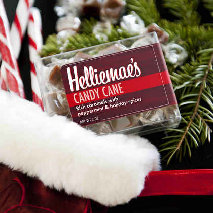 Candy Cane Caramels