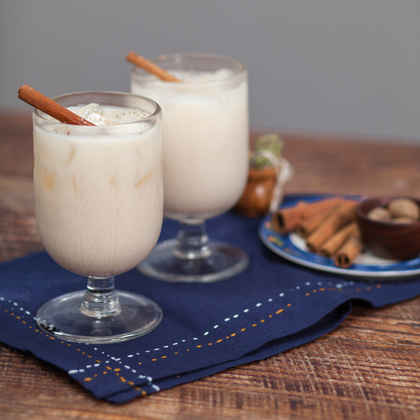 Homemade (Rum-infused) Horchata