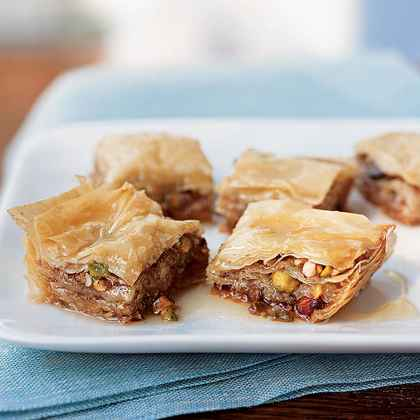 Baklava with Wildflower Honey