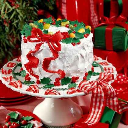 Christmas Cake Filling Ideas : Christmas Cake Ideas & Recipes MyRecipes