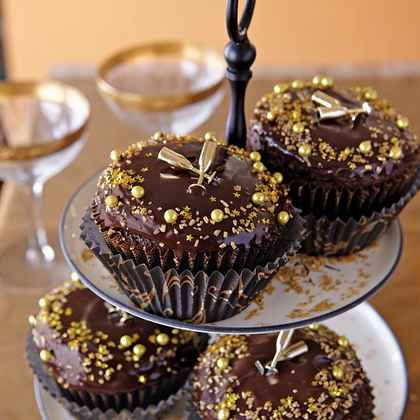Cupcake Decorating Ideas New Years Eve : Creative Ideas for Cupcakes MyRecipes