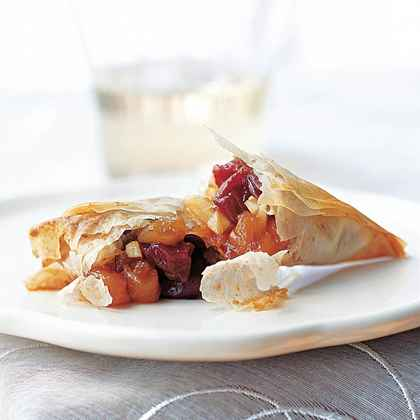 Cherry-Apricot Turnovers