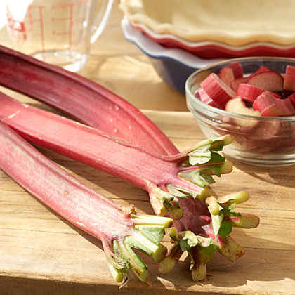 Try a Little Rhubarb