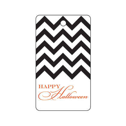 Halloween Black Chevron
