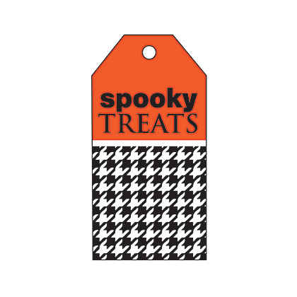 Halloween Black Houndstooth