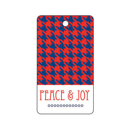 Peace and Joy Houndstooth