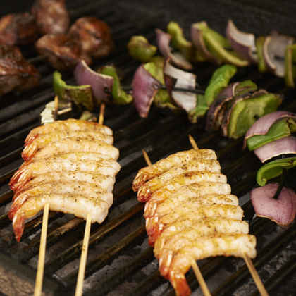 What's the best way to grill kebabs?