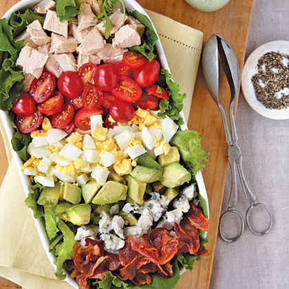 Cobb Salad with Green Goddess Dressing