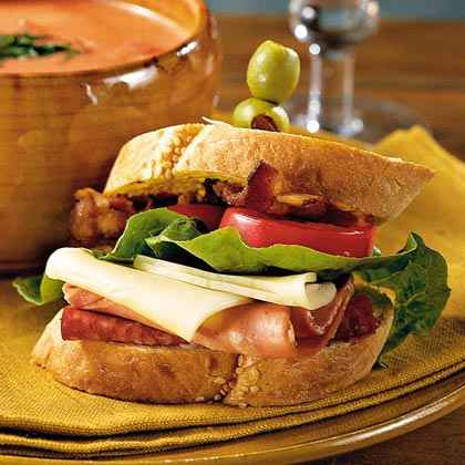 Soup-and-Sandwich Menu