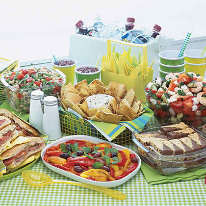 Summer Picnic Menu