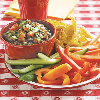 Bacon Black Bean Dip