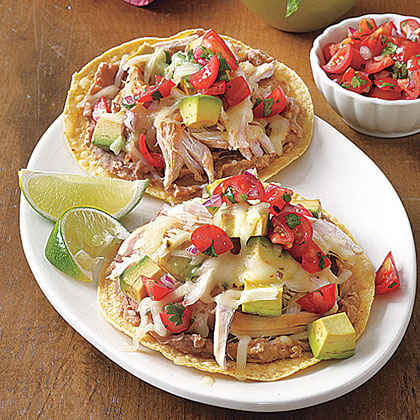 chicken tostadas rotisserie chicken tostadas chicken tostadas ...