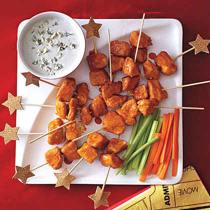 Buffalo Chicken Skewers ($0.81)