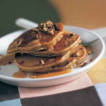 Leftover Mashed Sweet Potatoes: Pancakes
