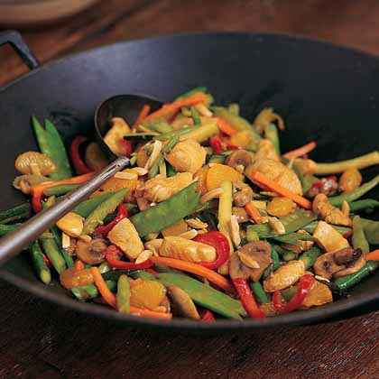 Chicken-Orange Stir-Fry