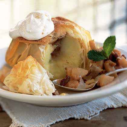 Apple Phyllo Cornucopias Recipes — Dishmaps