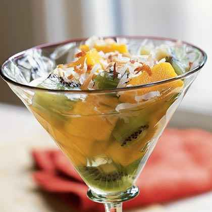 Tropical Fruit Ambrosia with Rum