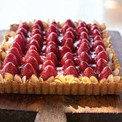 Strawberry-Almond Cream Tart