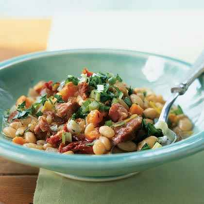 Dried Beans: Ham Hocks and White Beans