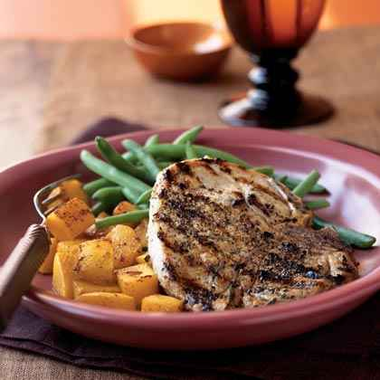 Buttermilk-Brined Pork Chops