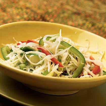 Three-Pepper Slaw