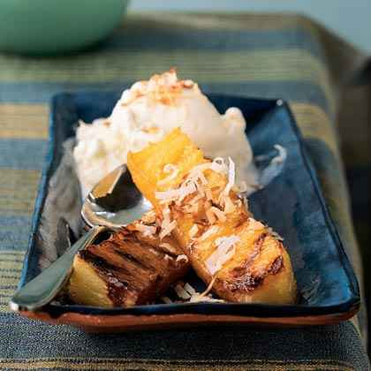 Sweet and Hot: Grilled Desserts