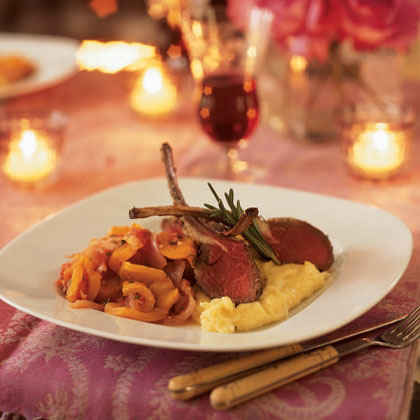 Pics for romantic dinner for two at home for Romantic dinner recipes for two at home
