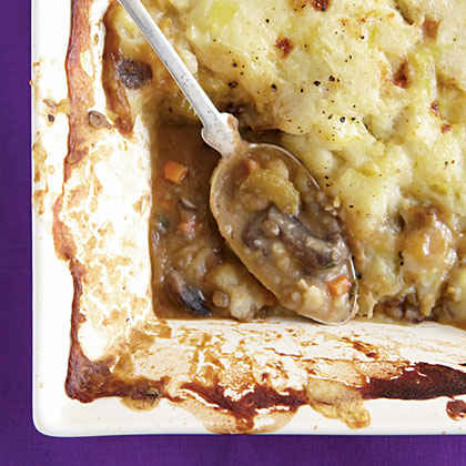 Wild Mushroom and Lentil Cottage Pie