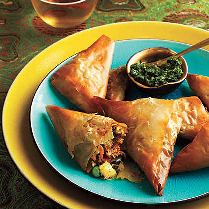 Leftover Mashed Potatoes: Vegetable Samosas