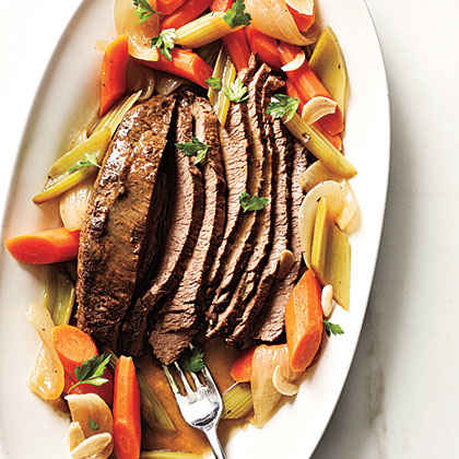Beer-Braised Brisket