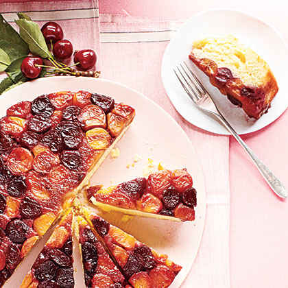 Double-Cherry Upside-Down Cake