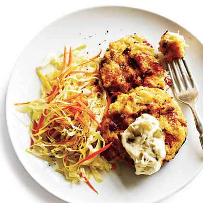 Cajun Crab and Quinoa Cakes