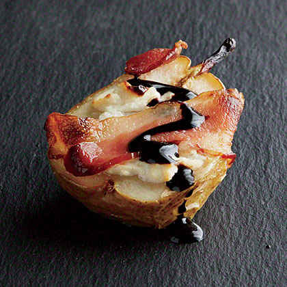 Bacon-Roasted Pears