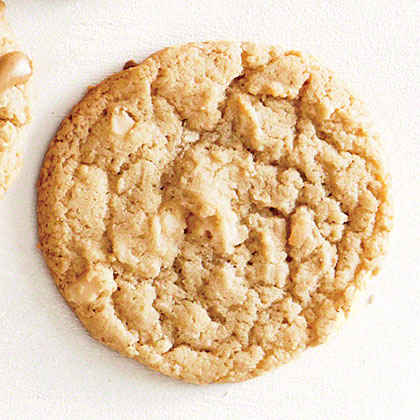 Coconut, Lime, and Macadamia Cookies
