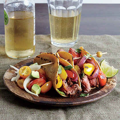 Smoky Steak Fajitas