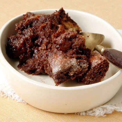 Chocolate-Cinnamon Bread Pudding