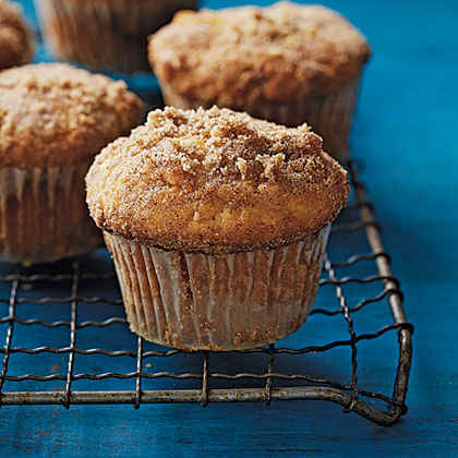 Almond Coffee Cake Muffins