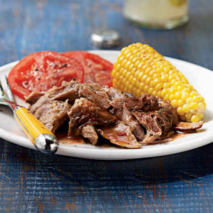 Carolina Pulled Pork with Lexington Red Sauce