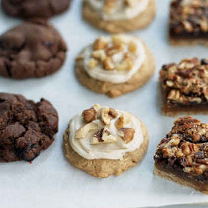 Maple-Walnut Spice Cookies