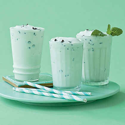 Mint Chocolate Protein Shake Mint-chocolate Chip Shake
