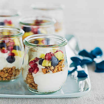 Mini Fruit-and-Yogurt Parfaits