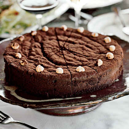 Chocolate-Bourbon Cake